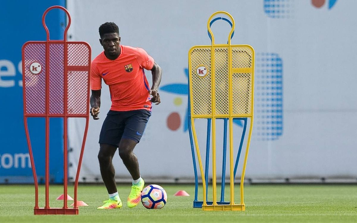 FC Barcelona training schedule for Joan Gamper Trophy week