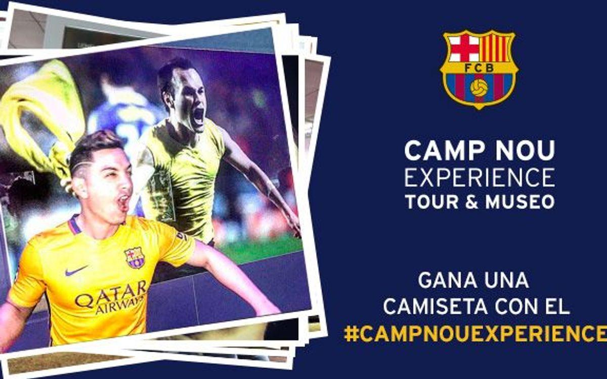 Ya se conoce el ganador del concurso 'Camp Nou Experience' de enero