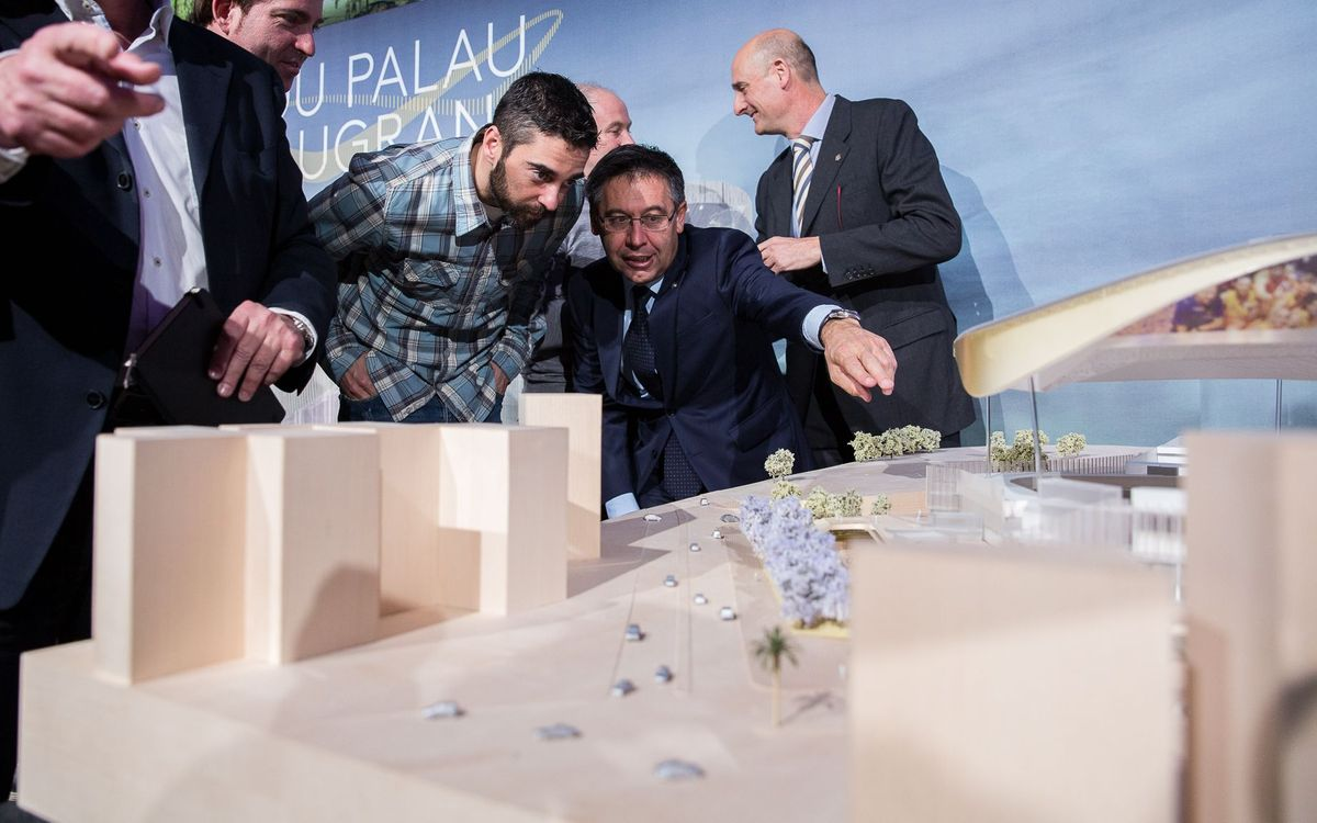 Josep Maria Bartomeu: The New Palau will be an architectural jewel