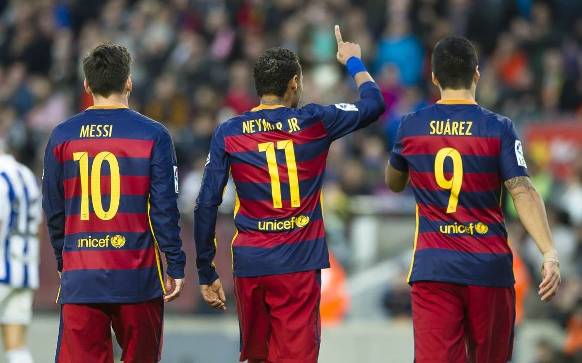 Leo Messi, Neymar Jr and Luis Suárez are top 3 players, according to l'Equipe