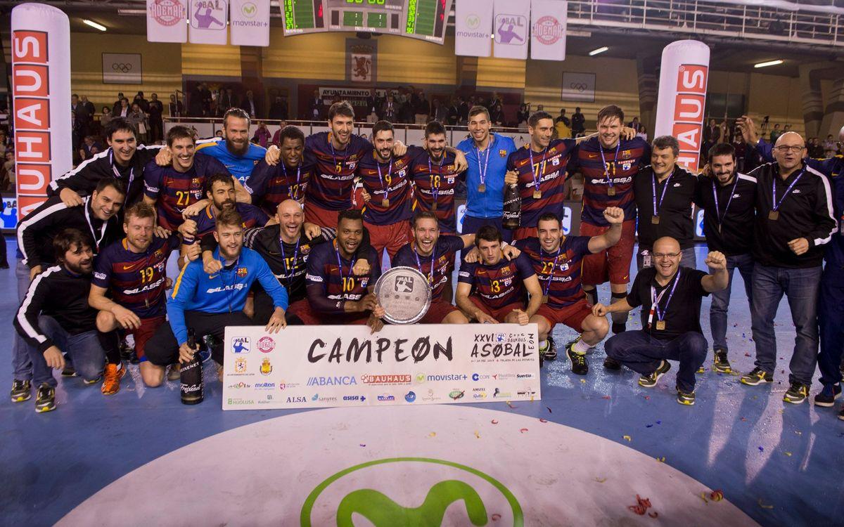 L'onzena Copa Asobal ja és blaugrana