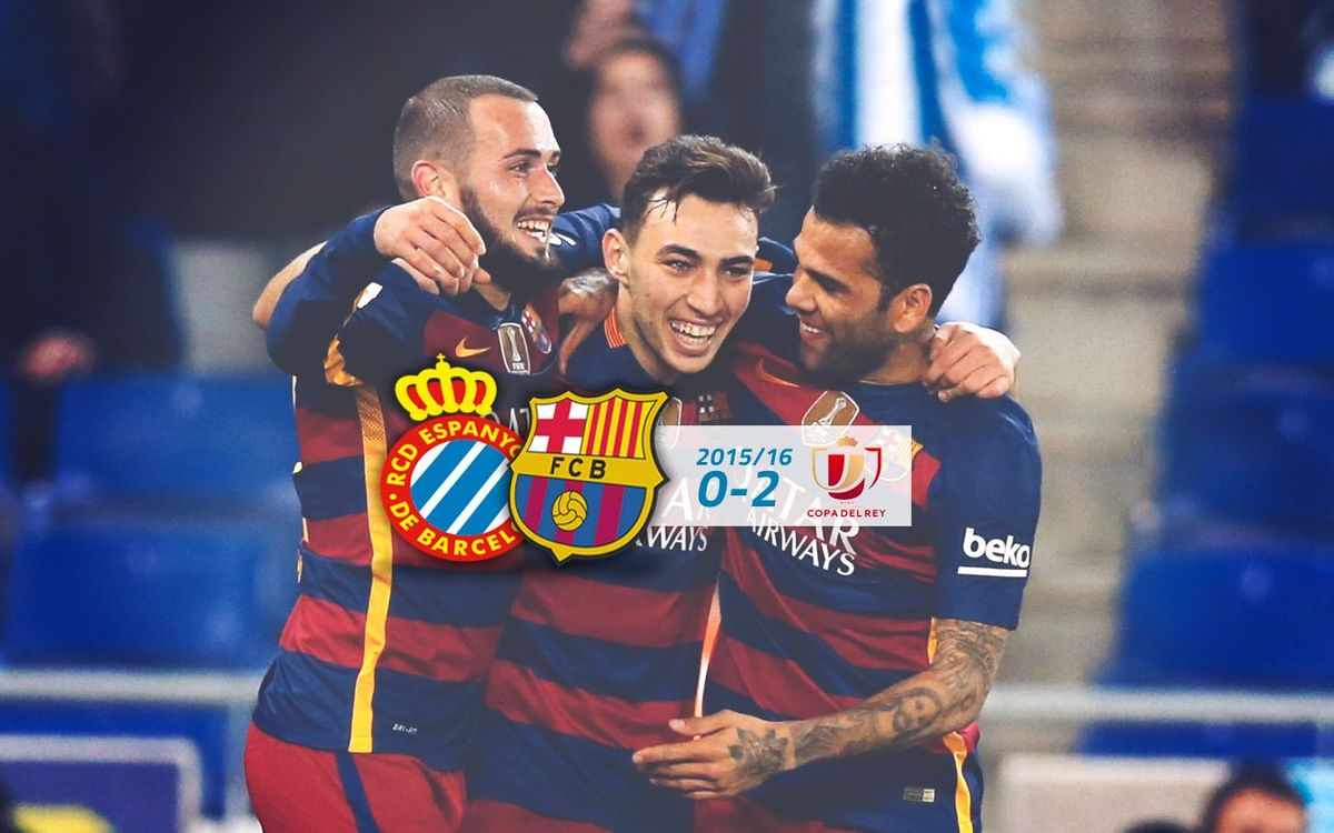 Espanyol: 0 - FC Barcelona: 2