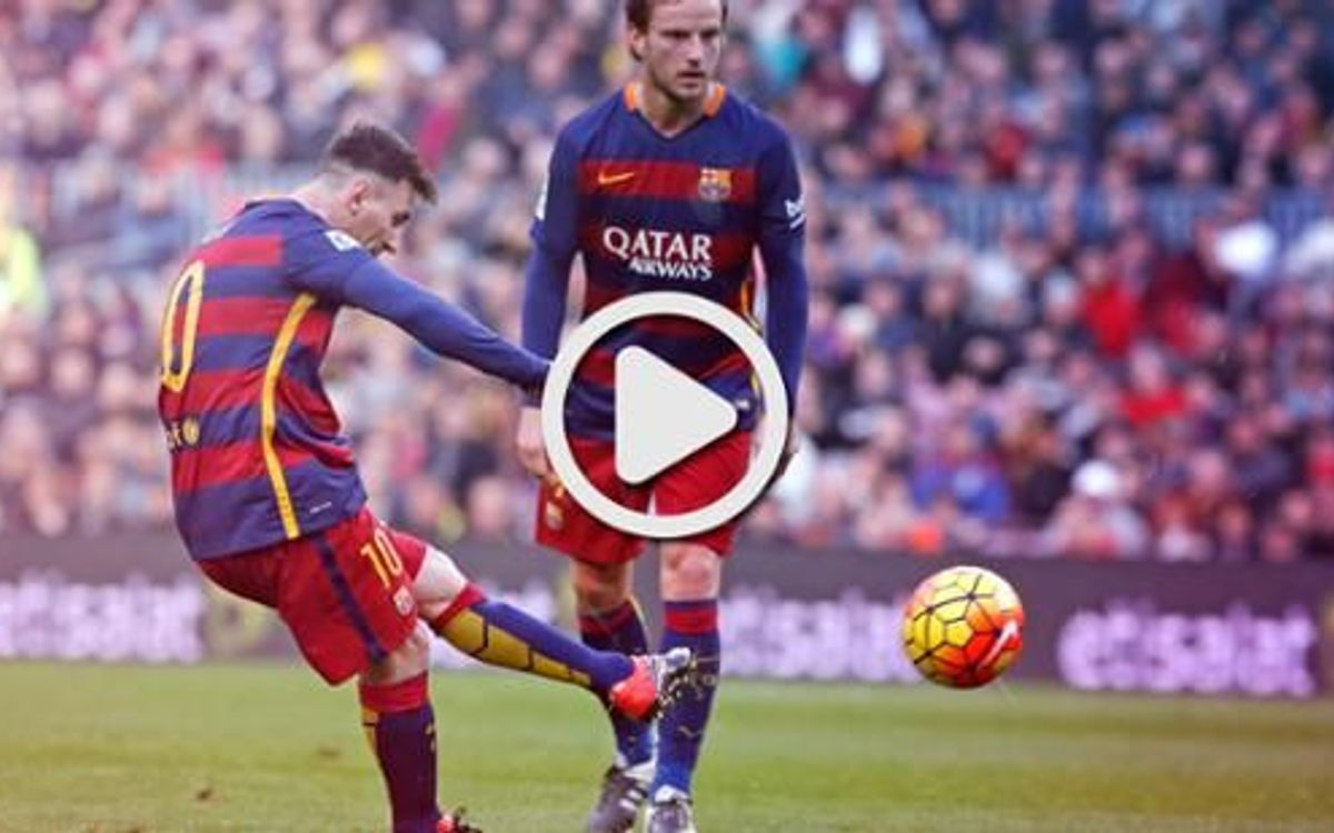 Video highlights of the League game against Deportivo