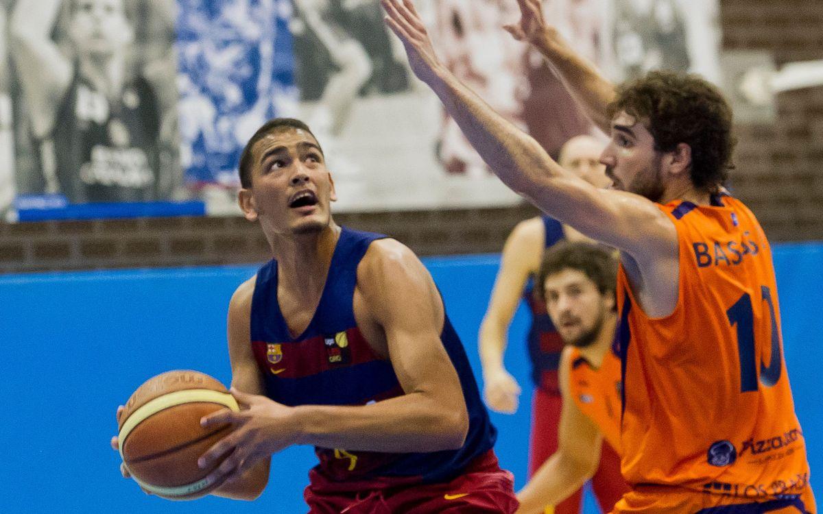 Oviedo Baloncesto - Barça B: El último cuarto decanta el partido (80-68)