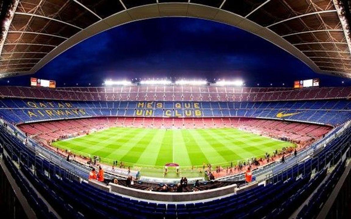 Medidas de seguridad en el Camp Nou para el partido ante el RC Deportivo