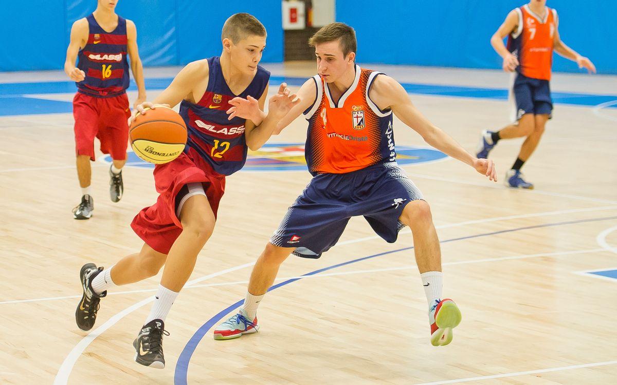 El repaso a la actualidad del baloncesto formativo azulgrana (semana 10)