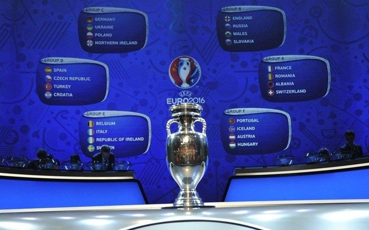 Los rivales de los futuribles internacionales azulgrana en la Eurocopa 2016