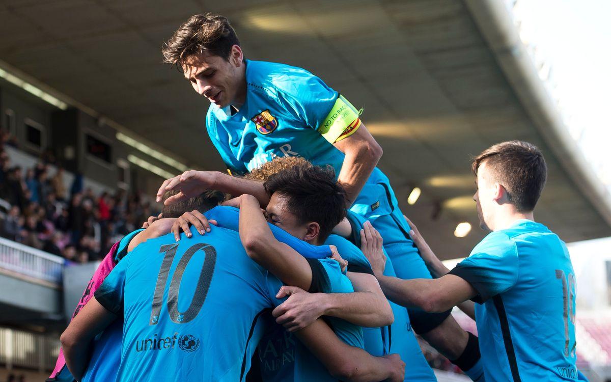 El GNK Dinamo, rival als quarts de final de la UEFA Youth League a partit únic