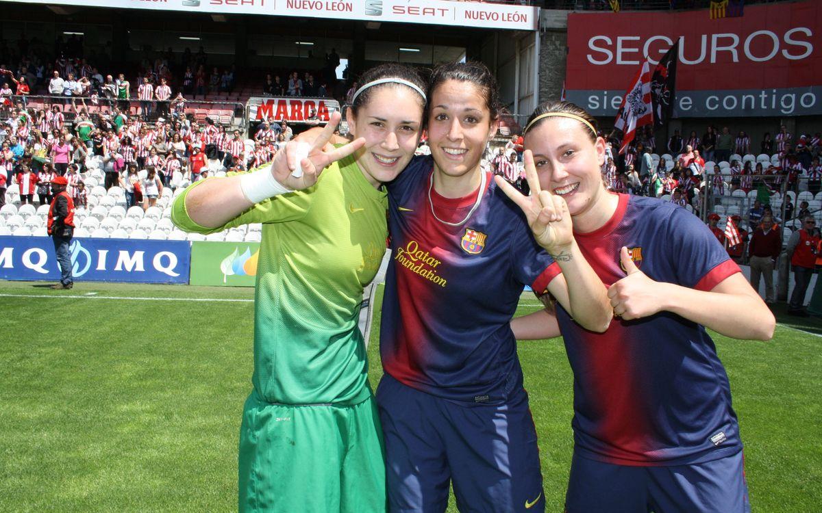 El referente del FC Barcelona Femenino es la Liga de 2013