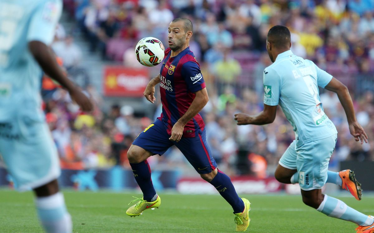 FC Barcelona v Granada on Saturday 9 January