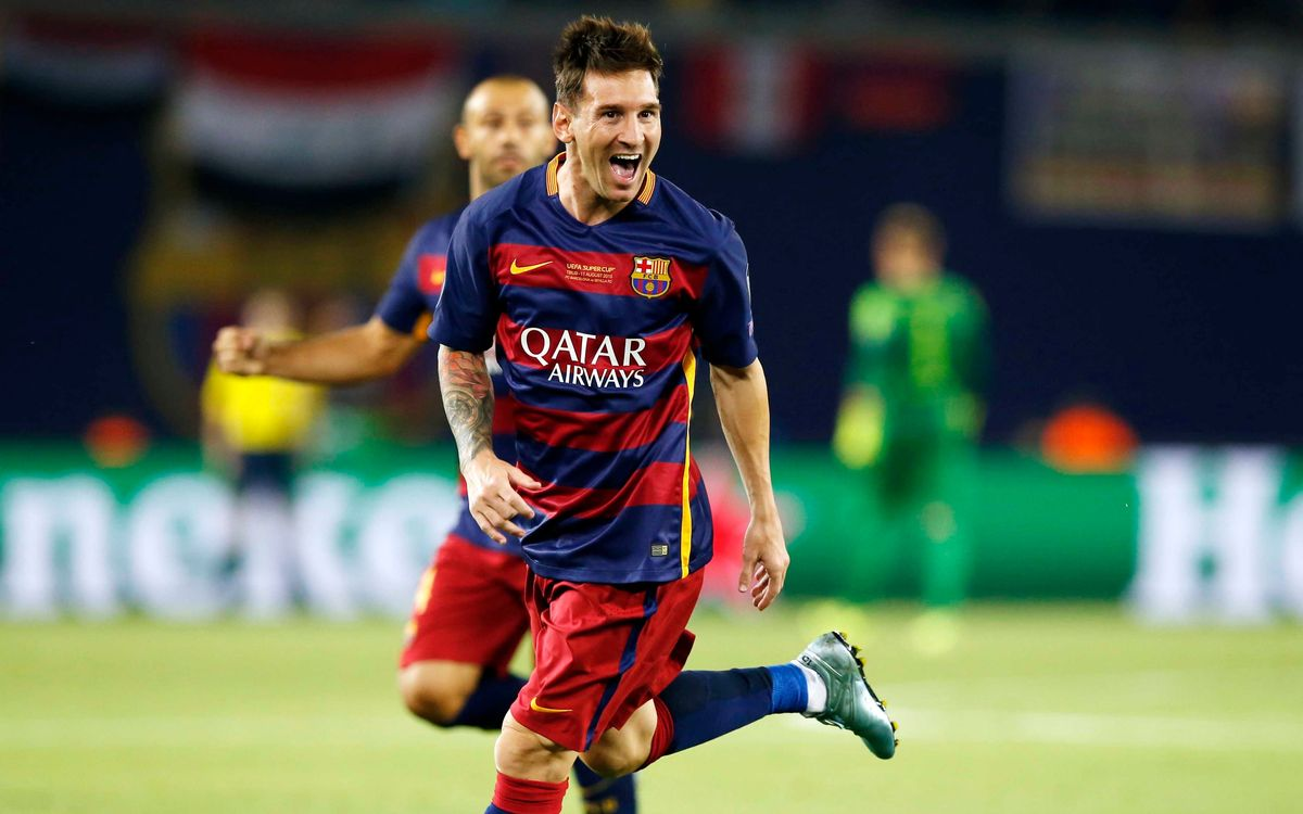 Leo Messi - the 'Final' goalscorer