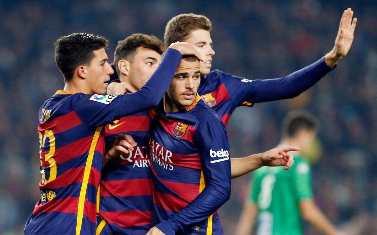 FC Barcelona - CF Villanovense: Sin sorpresas, hacia octavos (6-1)
