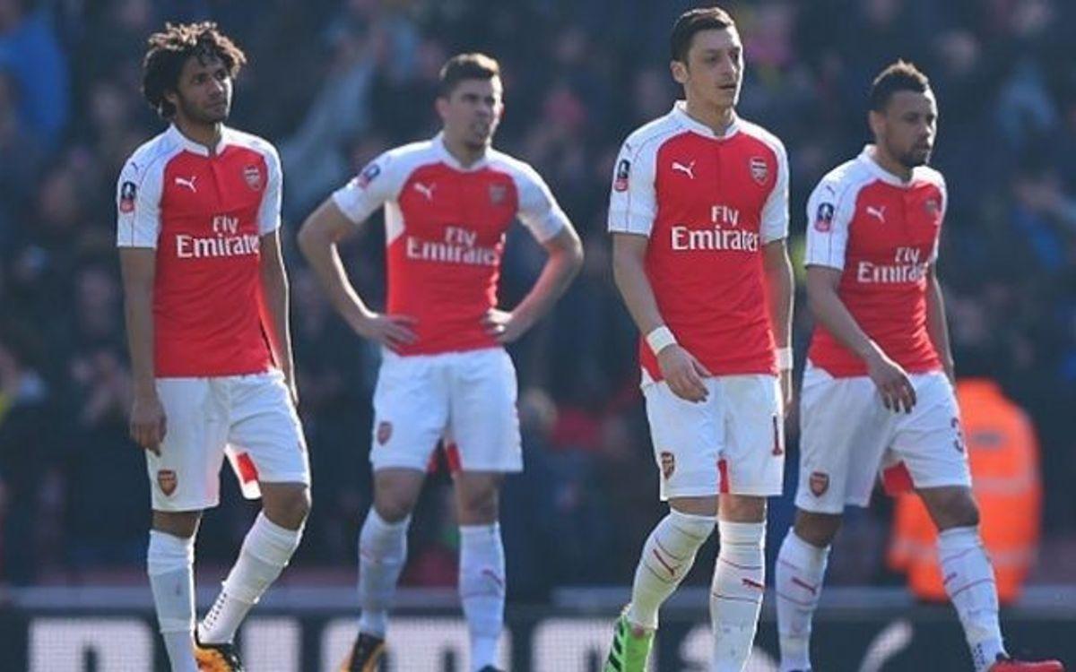 L'Arsenal cau contra el Watford a la FA Cup abans de visitar el Camp Nou