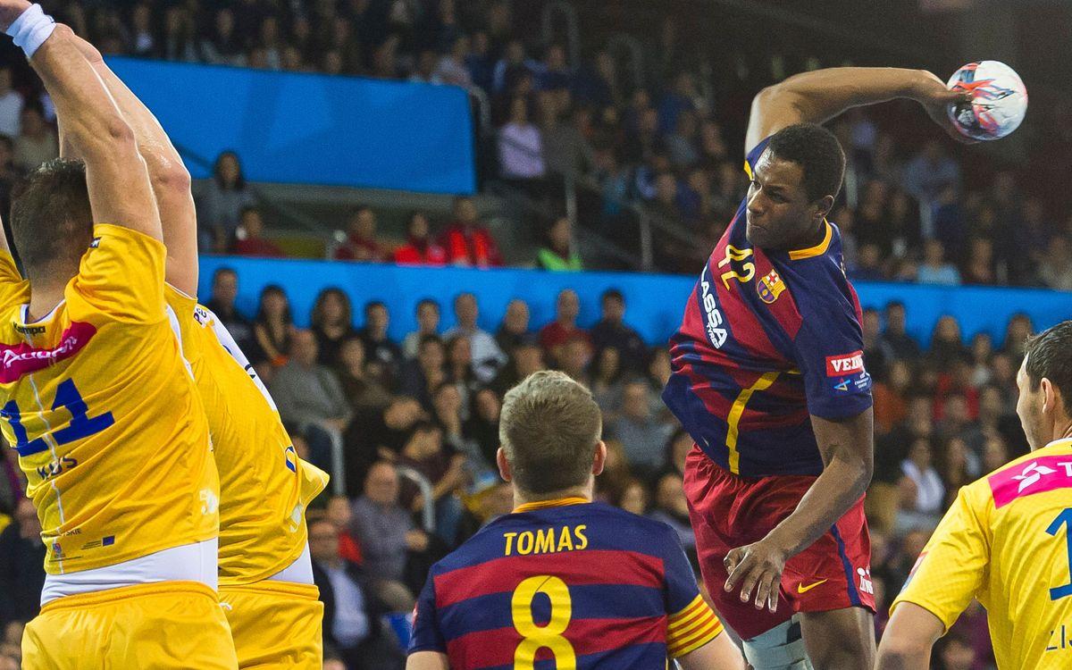 Fertiberia Puerto Sagunto - FC Barcelona Lassa: Directos hacia cuartos de la Copa (25-43)