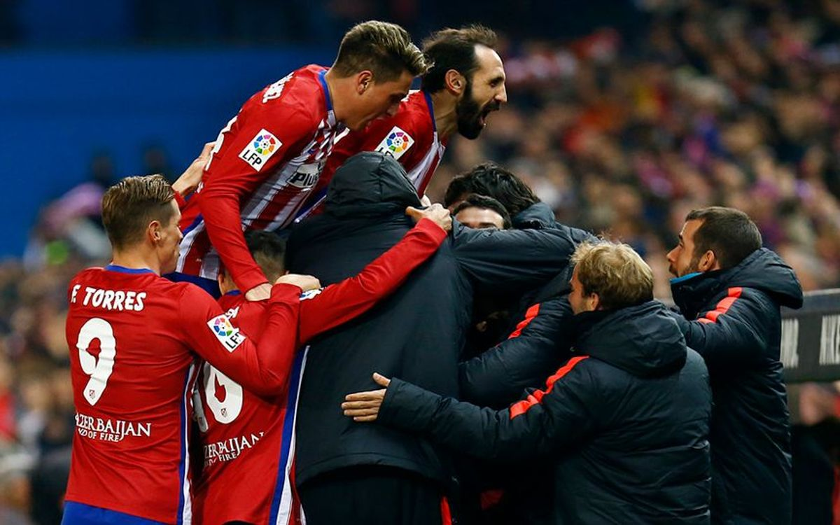 Rival watch: Atlético Madrid draw level on points with FC Barcelona