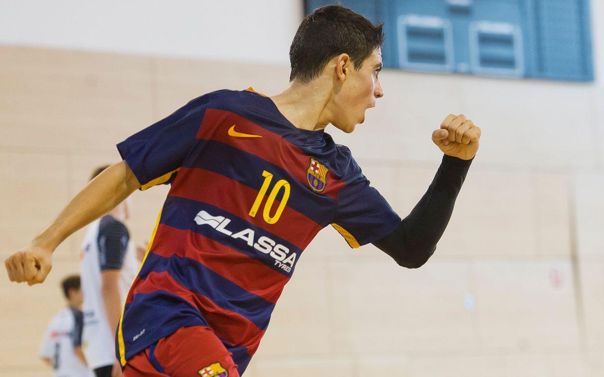 La jornada del balonmano formativo del Barça Lassa