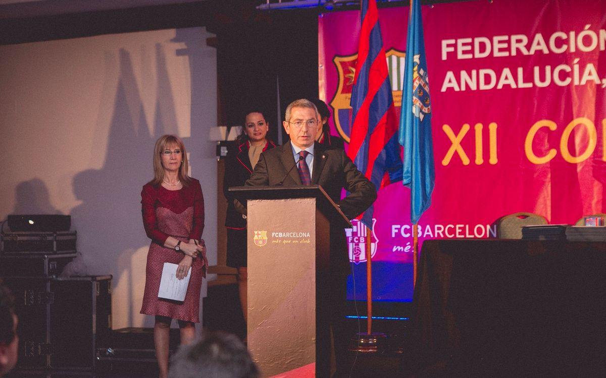 Éxito del Congreso de Peñas Barcelonistas de Andalucía, Ceuta y Melilla