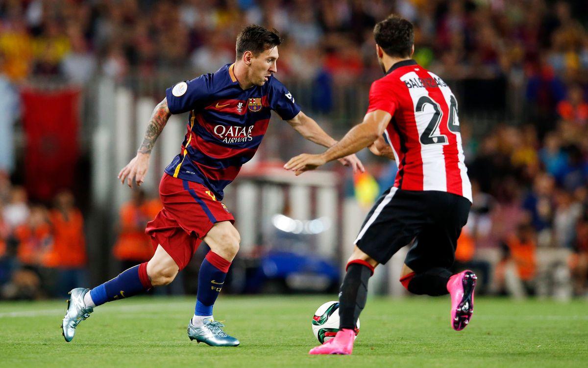 FC Barcelona - Athletic Club:La trilogía comienza con tres puntos en juego