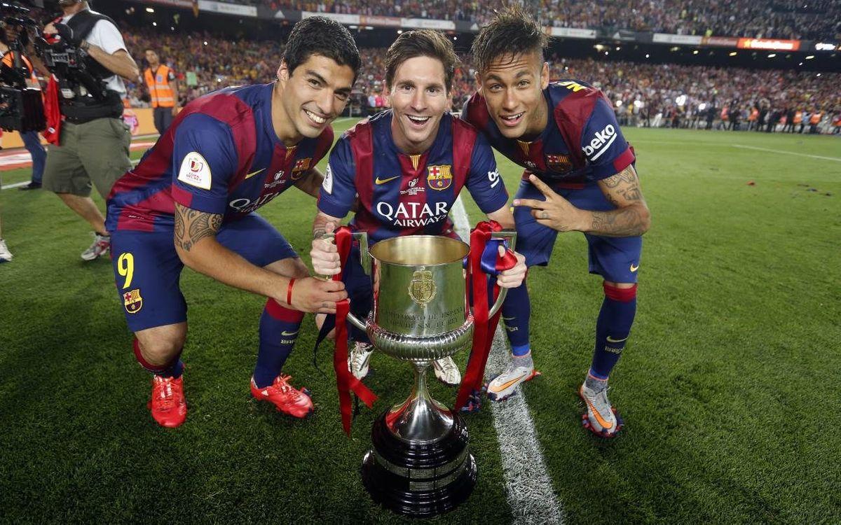 Messi, Neymar et Suárez, les meilleurs du monde selon le journal L'Équipe