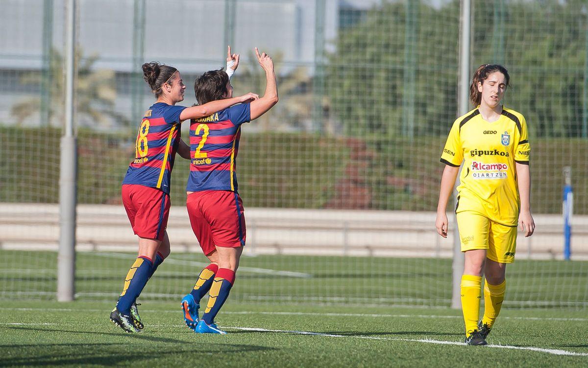 FC Barcelona Femení – UD Granadilla Tenerife: Una volta per somiar