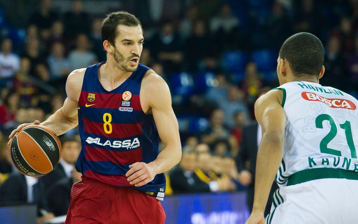 Objectiu: tornar a fer-se forts al Palau Blaugrana