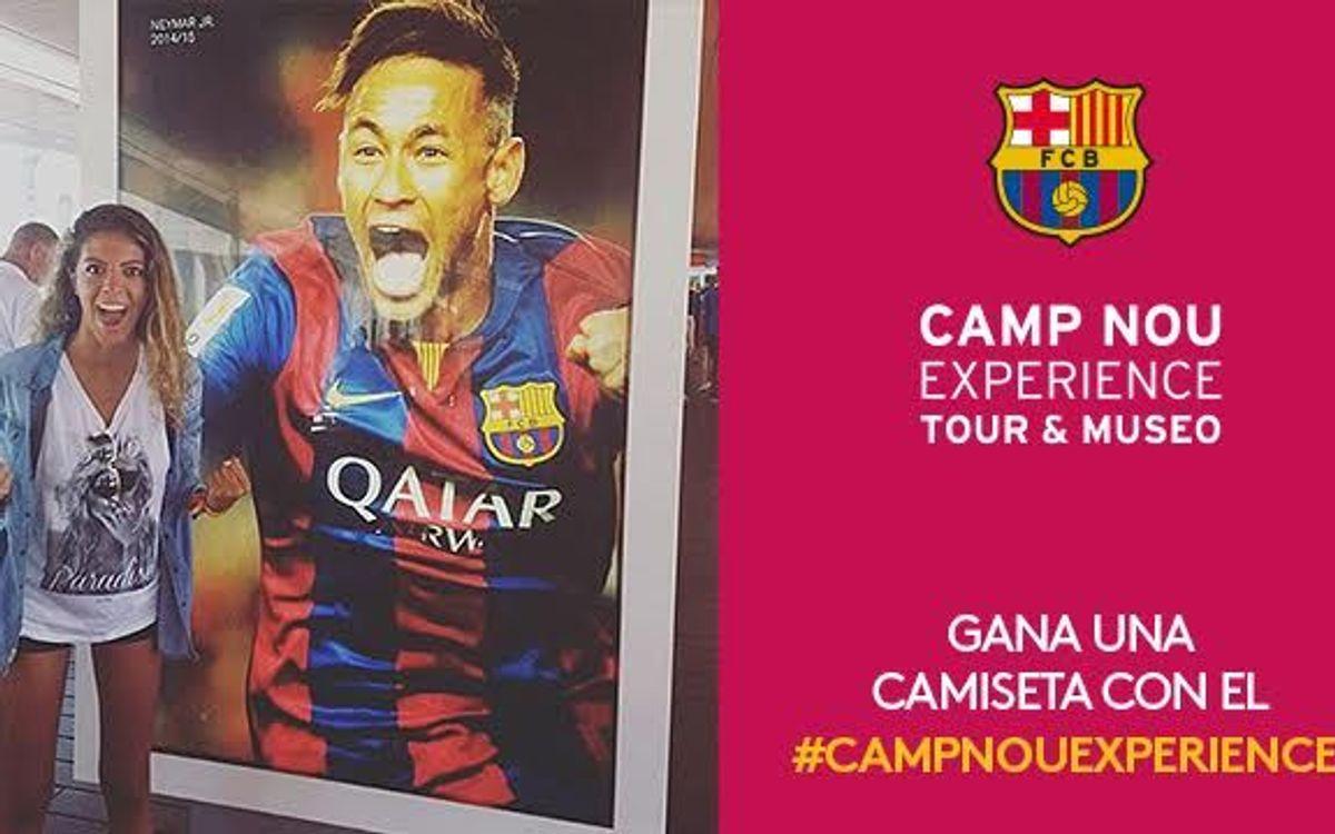 El concurso Camp Nou Experience de diciembre ya tiene ganador