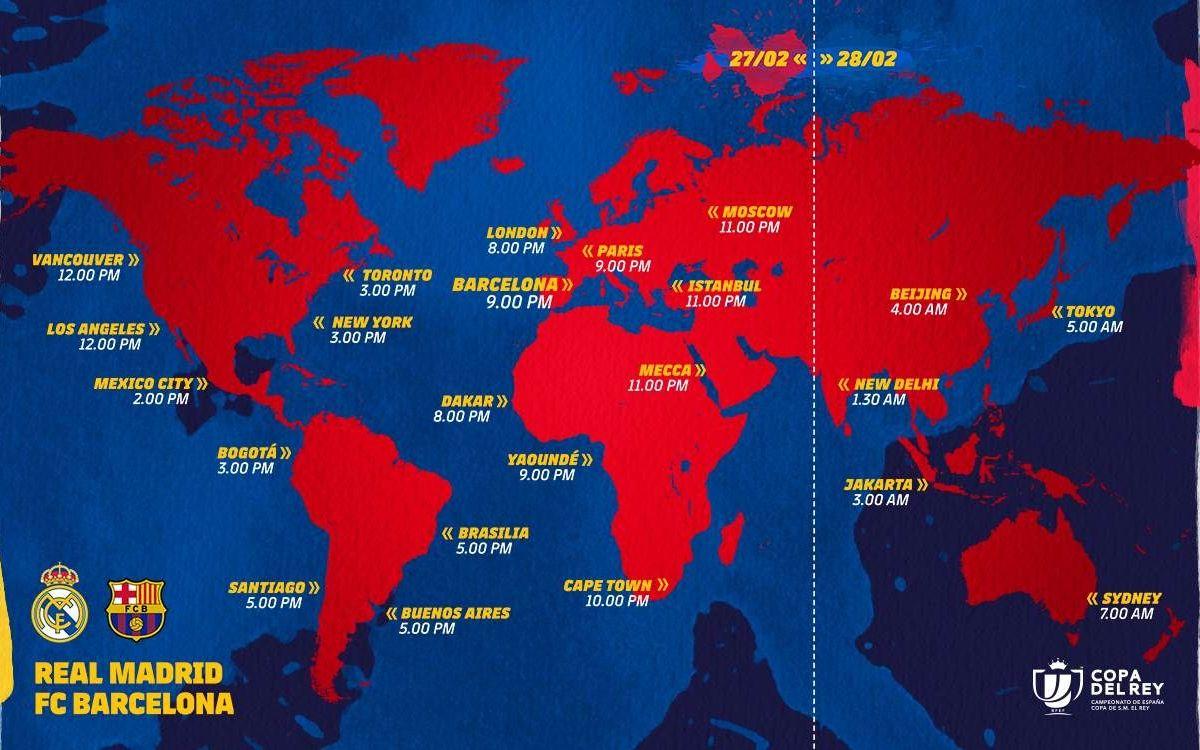 Cuándo y dónde ver El Clásico de Copa