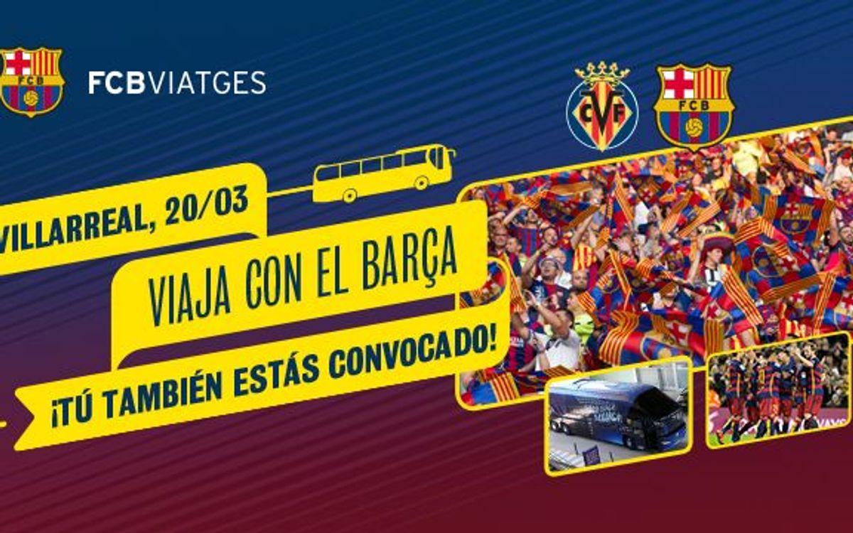 Los socios pueden viajar a Villarreal en autocar por 19,50 €