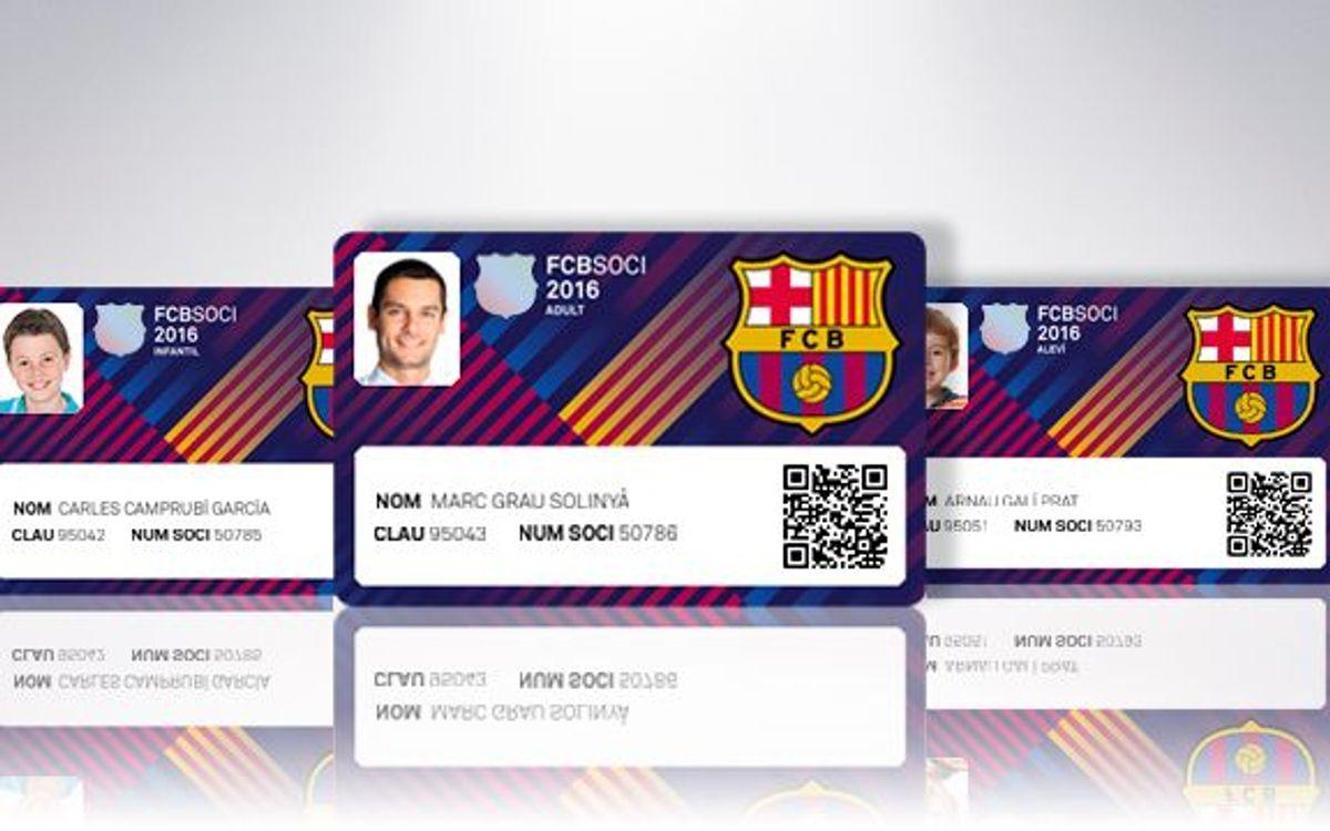 FC Barcelona – Sevilla: Imprescindible el carnet de soci del 2016
