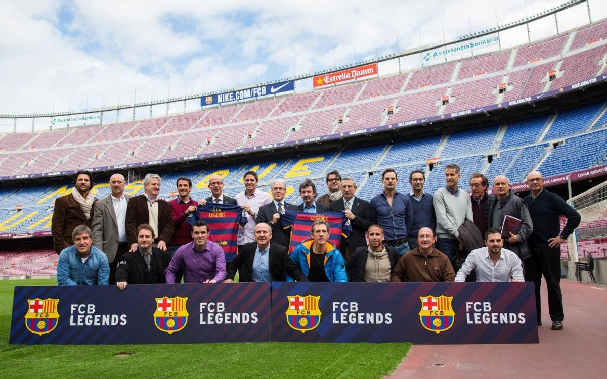 Former FC Barcelona players to get involved as 'FCB Legends'