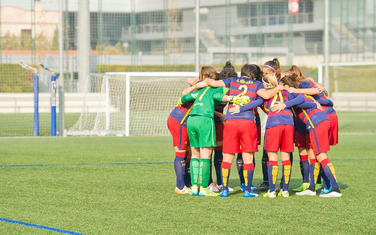 Reial Societat – FCB Femení: Tancament exigent