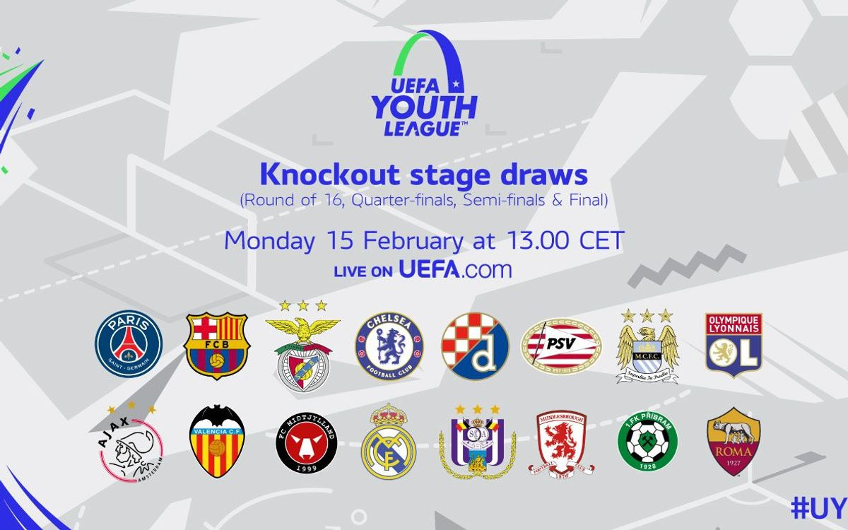 Ajax, València, Midtjylland, R. Madrid, Anderlecht, Middlesbrough i Pribram, possibles rivals als vuitens de la Youth League