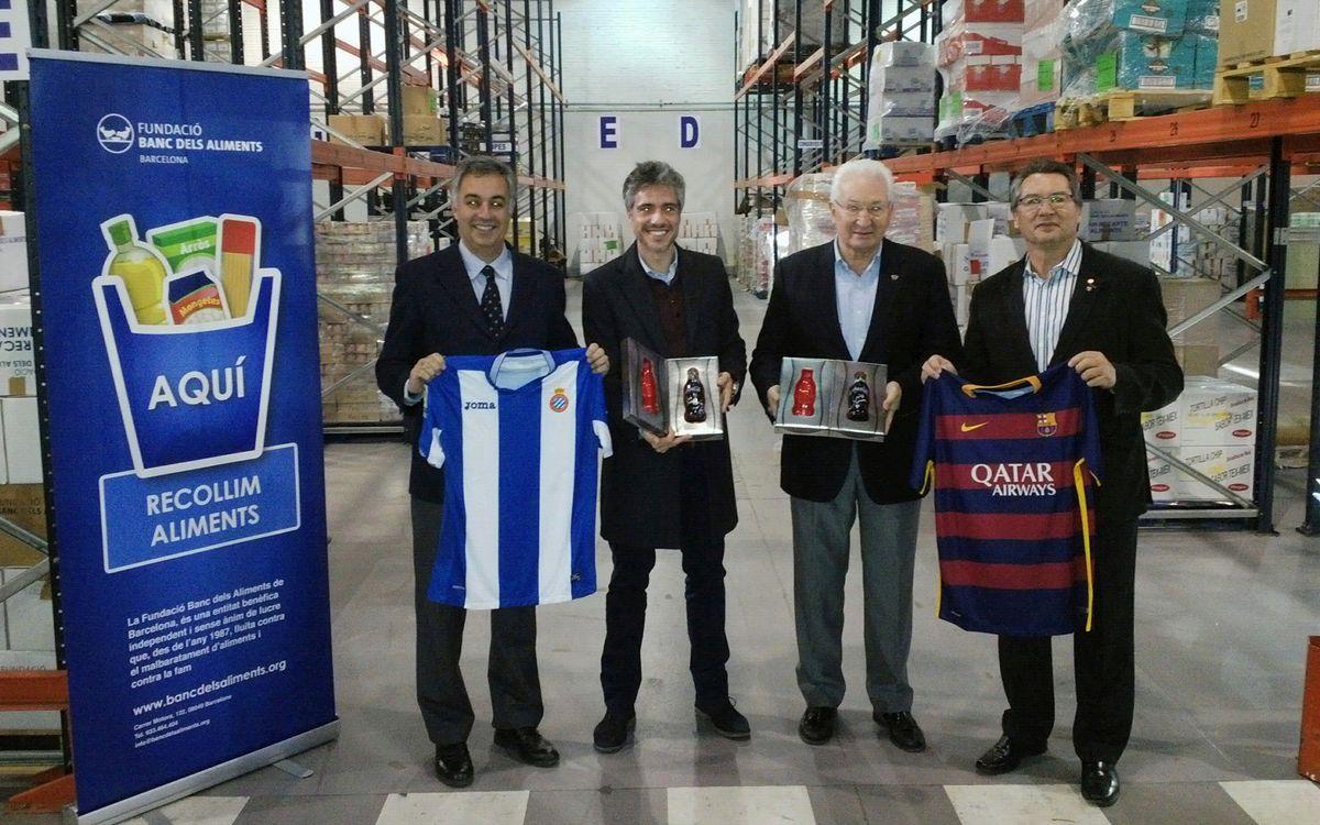 El Barça se suma a la subasta solidaria de botellas exclusivas de Coca-Cola para el Banco de Alimentos
