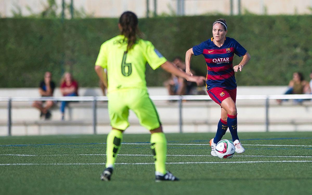 Set barcelonistes convocades per la selecció espanyola