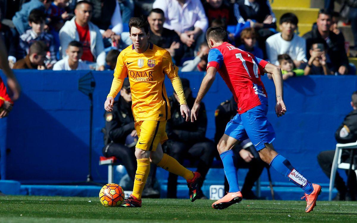 Leo Messi es reincorporarà aquest dimecres amb el grup