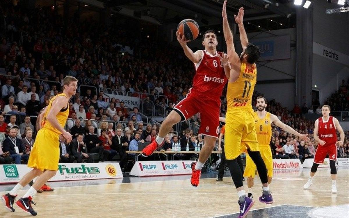 Brose Baskets v FC Barcelona Lassa: Defeat in Germany (74-70)