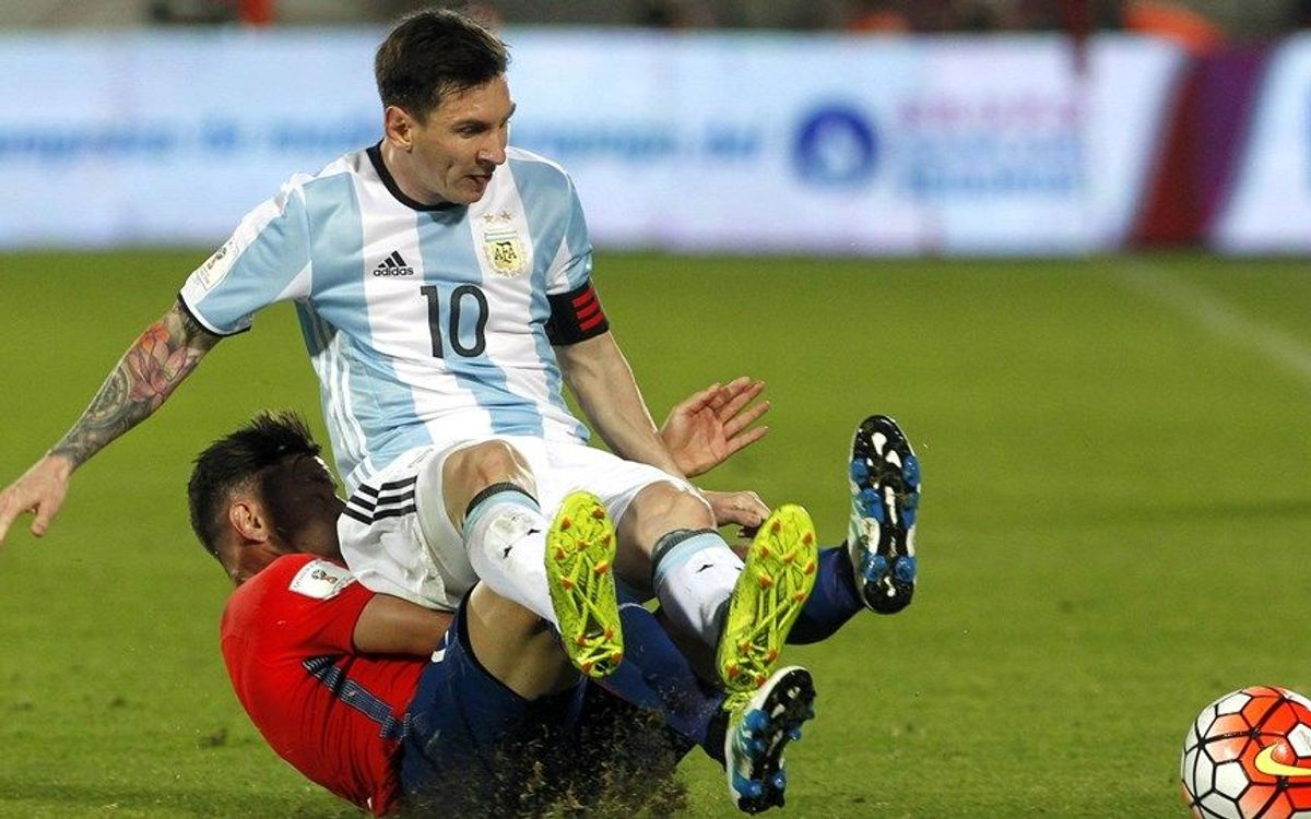 Argentina defeat Chile in World Cup 2018 qualifier