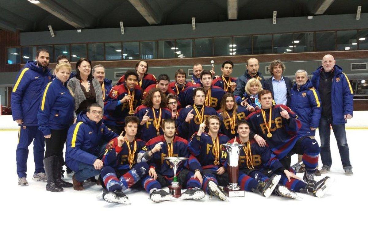 El Sub-18, campió de la Copa d'Espanya
