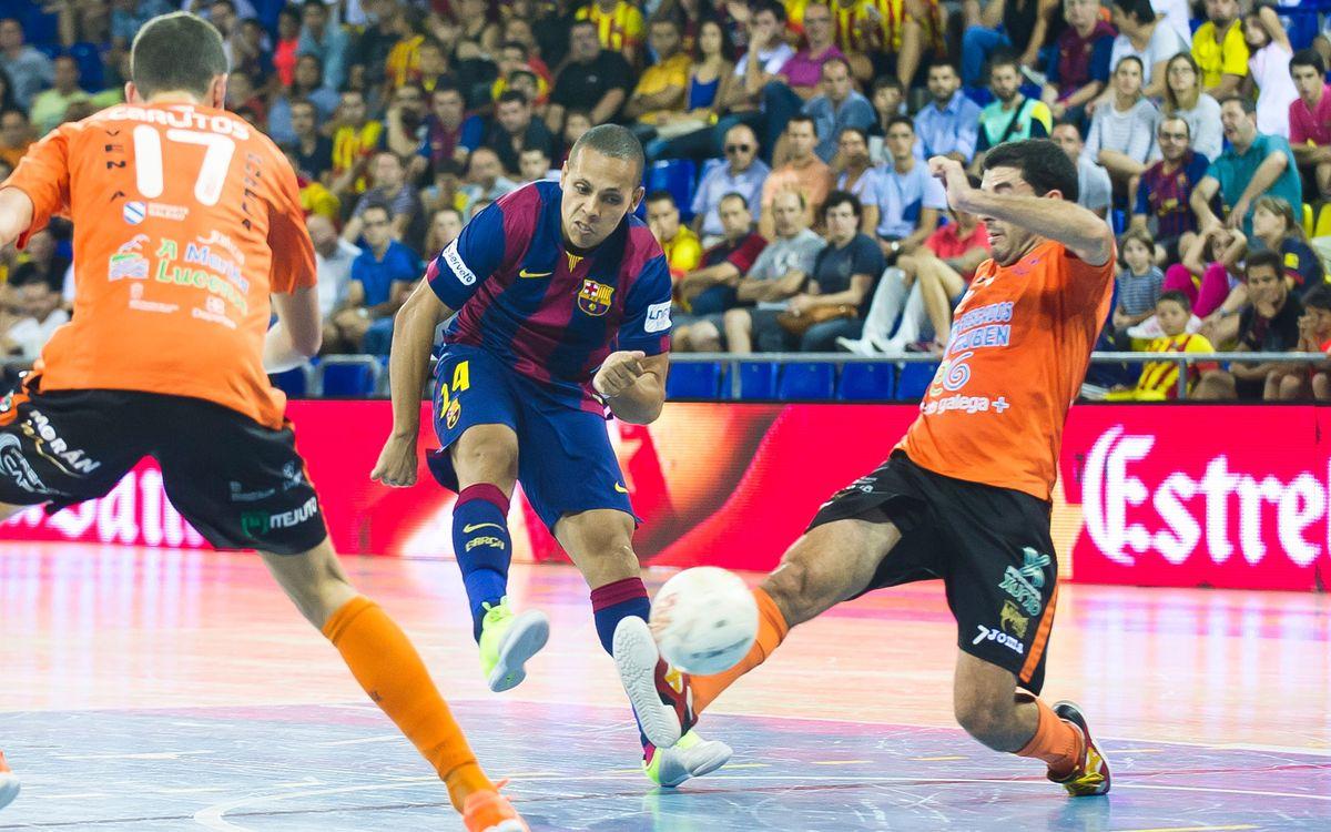 El Barça Lassa quiere consolidar la segunda plaza