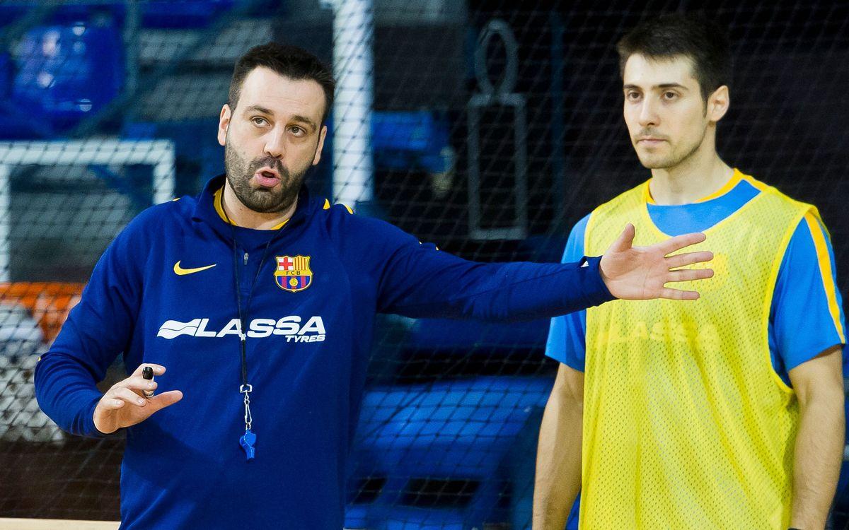 """Ricard Muñoz y Matías Pascual: """"Son tres puntos importantes, todos ellos suman al final"""""""