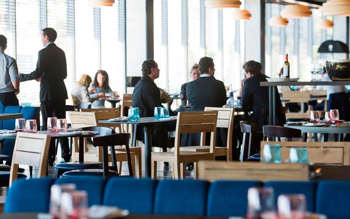 Abierto al público el nuevo espacio gastronómico 'Roma 2009' en el Camp Nou