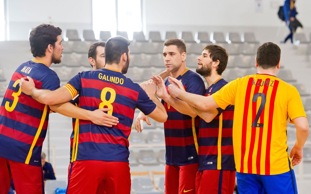El Barça de vòlei, a la Superlliga