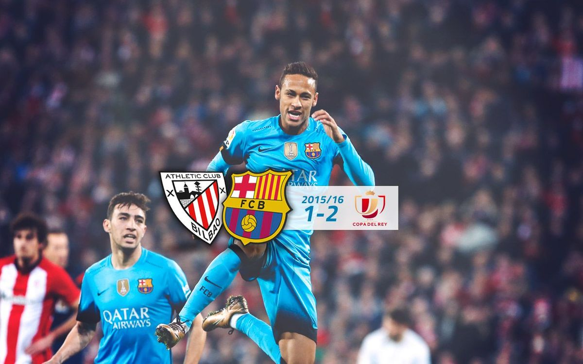 Athletic Club: 1 - FC Barcelona: 2