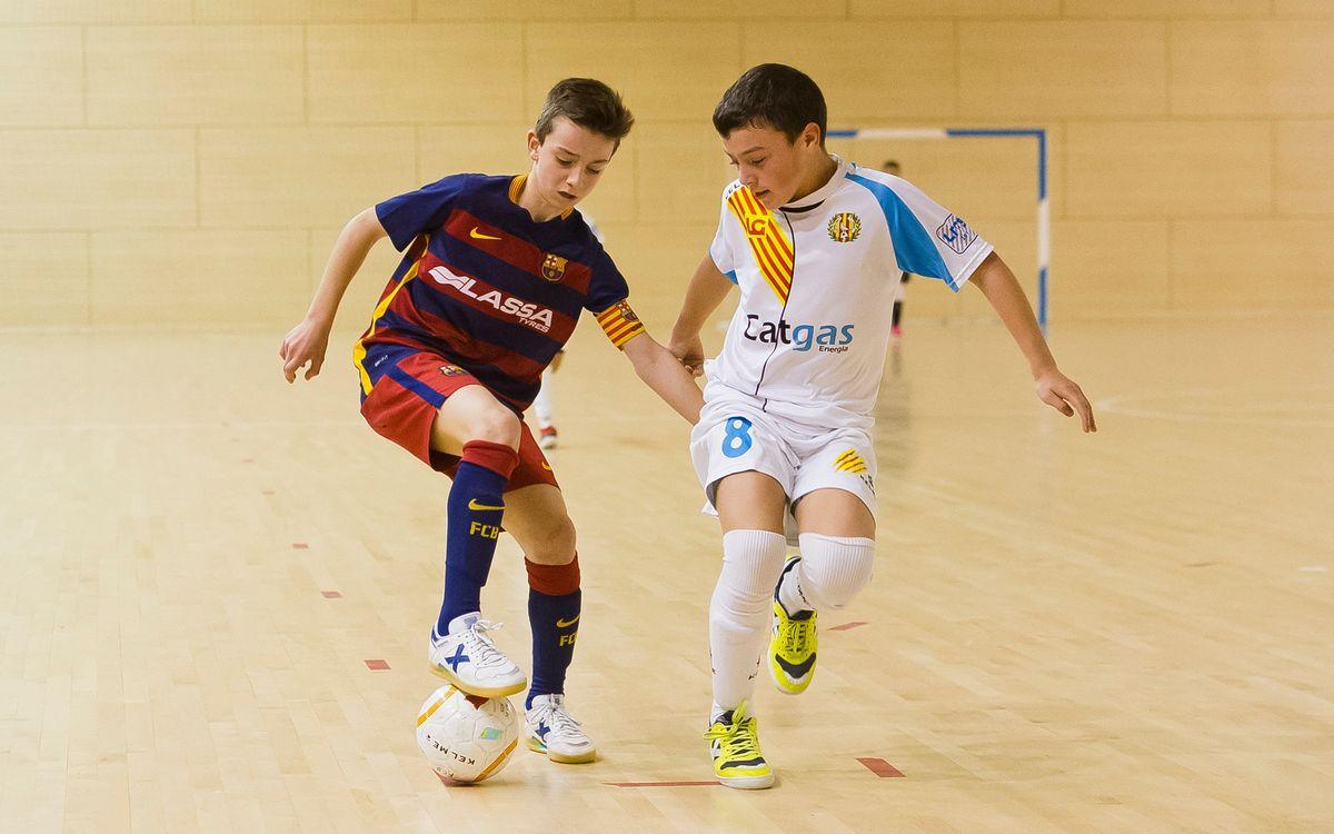 El futbol sala blaugrana continúa con buenos resultados