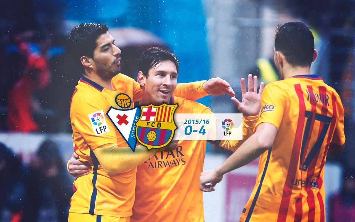 SD Eibar: 0 - FC Barcelona: 4