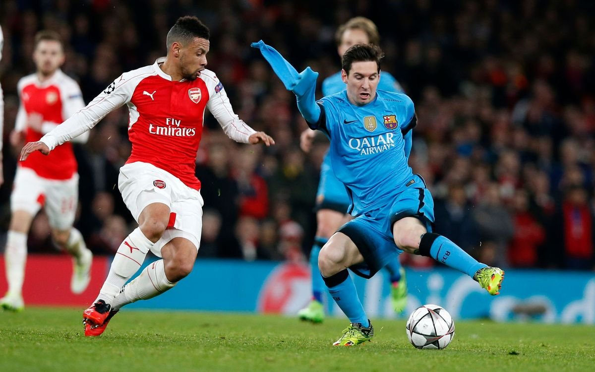 Arsenal FC v FC Barcelona: Premier victory in London (0-2)