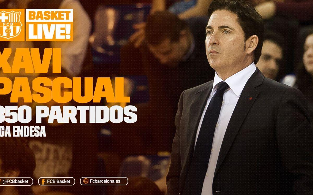 Xavi Pascual, 350 partidos en la Liga Endesa
