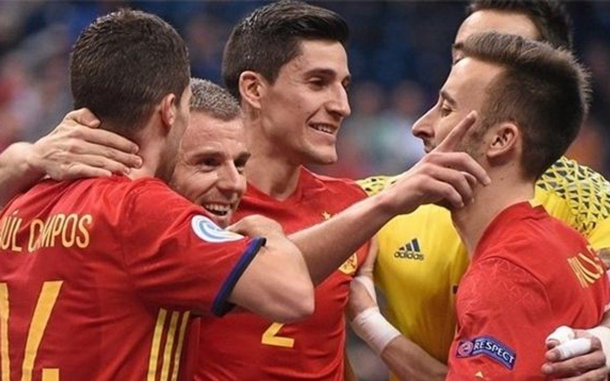 Espanya es classifica per a la final de l'Europeu contra Rússia