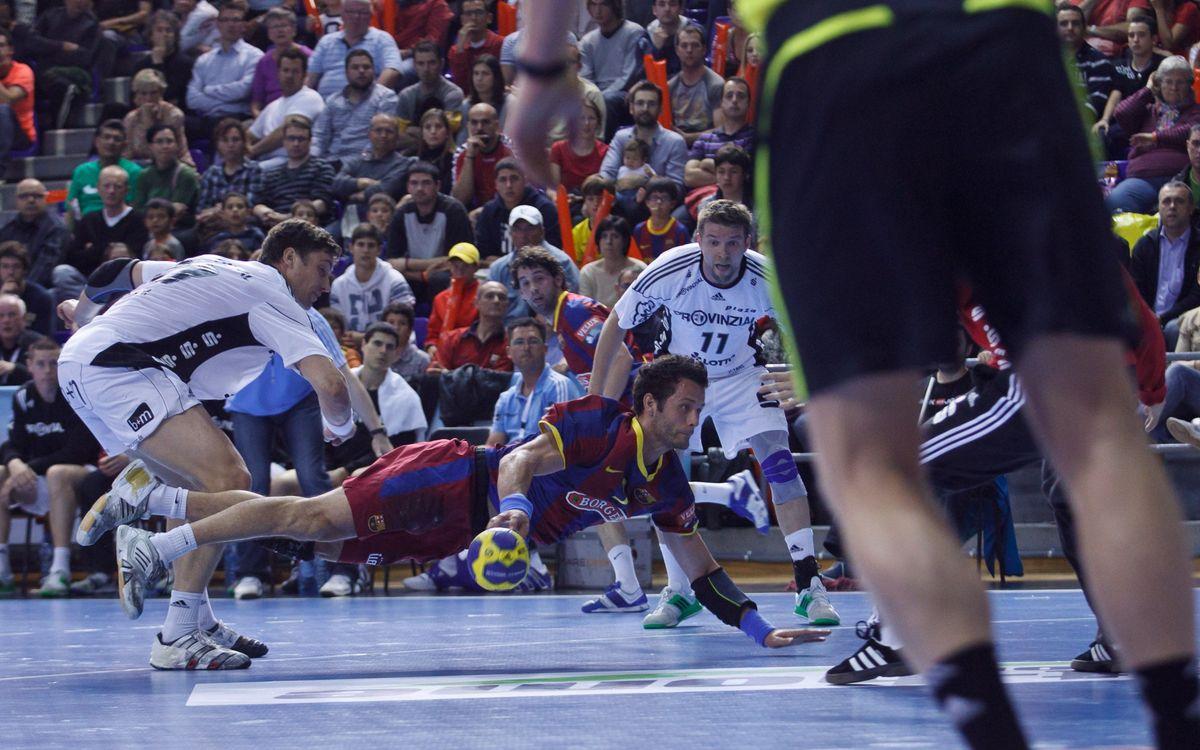 El TWH Kiel, rival del FC Barcelona Lassa en los cuartos de final de la EHF Velux Champions League