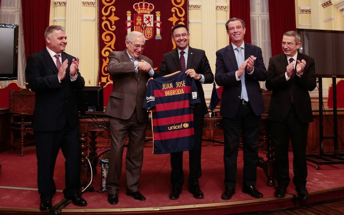 Bartomeu attends XVII Congress of Supporters Clubs of Andalucía, Ceuta and Melilla